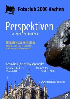 Fotoausstellung, Perspektiven, Fotoclub 2000 Aachen, Rehaklinik An der Rosenquelle, Aachen, Burtscheid