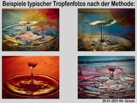 Tropfenfotografie | © Karlheiz Grouls | 20 Jahre Fotoclub 2000 Aachen