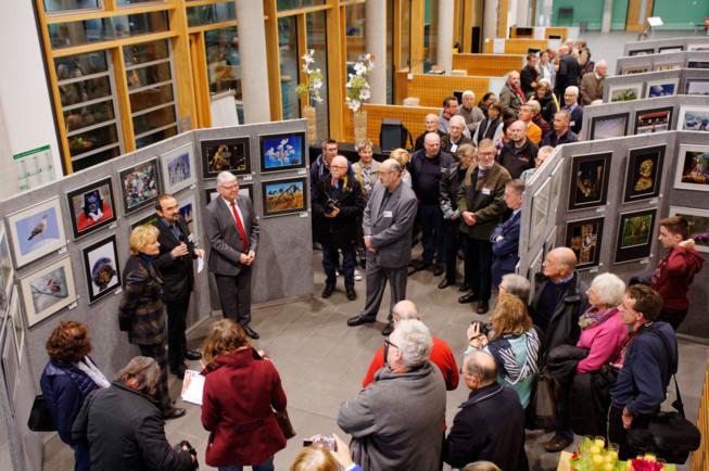 Eröffnung der Jahresausstellung 2015 im Finanzamtszentrum | Fotoclub 2000 Aachen | Foto: © JosWaS